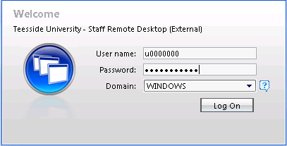 How do I use Citrix Staff Remote Desktop September 2014 Initial Log On In order to login into the new Citrix system, you need to go to the following web address. https://remotets.tees.ac.