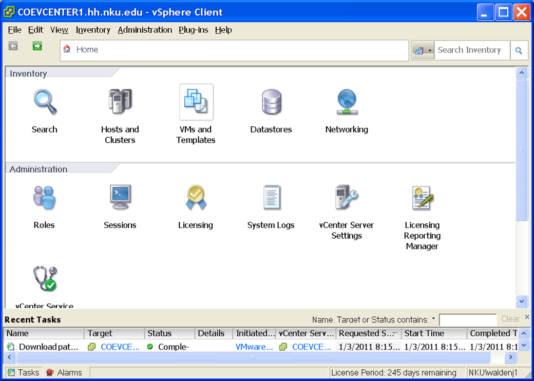 Using Virtual Machines We will use VMs in CIT 130 so that you can access both a Windows 7 and a Linux machine.