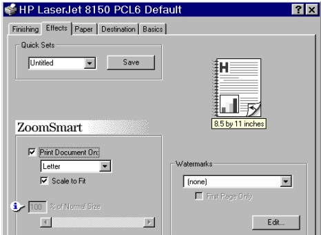 PCL 6 and PCL 5e driver features Bubble Help Bubble Help features a graphical icon resembling a cartoon speech bubble with a small i in it, representing the international symbol for information.