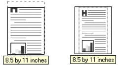 PCL 6 and PCL 5e driver features The Scale to Fit option specifies whether each formatted document page image is scaled to fit the target paper size.