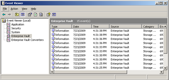 NetBackup Enterprise Vault Migrator Troubleshooting the Enterprise Vault migrator 139 9 Disable logging. You must disable the logging to ensure that all log entries are stored in the log file.