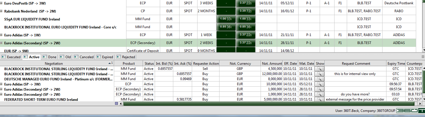 360t trading system