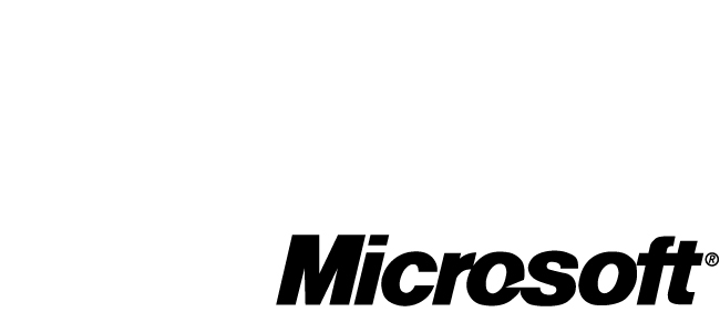 For More Information For more information about Microsoft products and services, call the Microsoft Sales Information Center at (800) 426-9400.