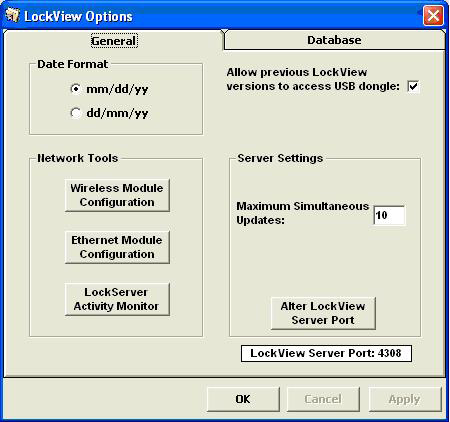 If the lock has a network module and it needs to be configured, click Wireless Module Configuration.