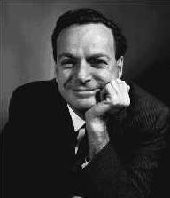 1.5. L. Onsager and R. Feynman Then Professor Onsager got up and said in a dour voice, Well, Professor Feynman is new in our field, and I think he needs to be educated.