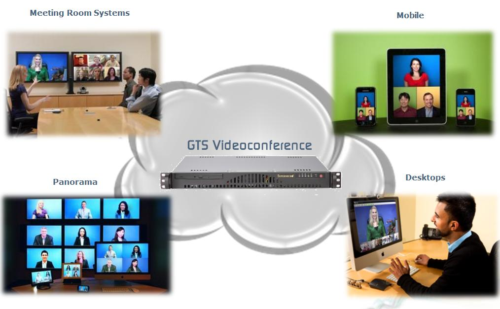 It offers a superior portfolio of endpoints - possibilities to engage in videoconferencing.