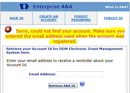 9. You may now log in using the Account Id and Password. Click on sign in. Then go to step 17 of the instructions. 10.