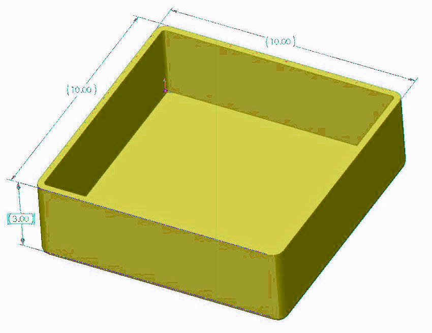 Size Limitations Size Limits for Rapid Injection Molding The XY dimensions must be less than 20 x 20. Maximum part volume cannot exceed 36 cubic inches.
