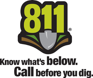 Call Before You Dig Before you plant trees or shrubs, dial 8-1-1.