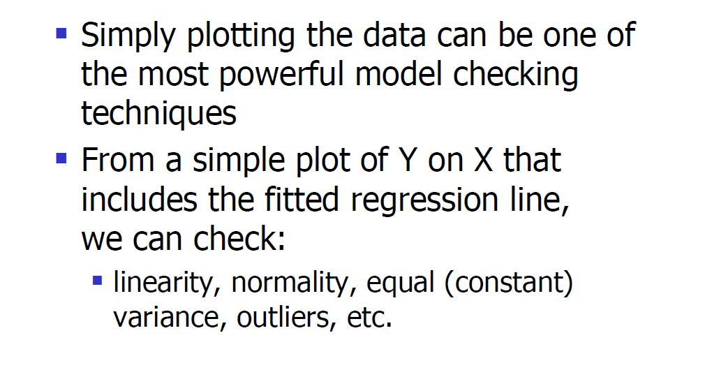 Model Validity Checks