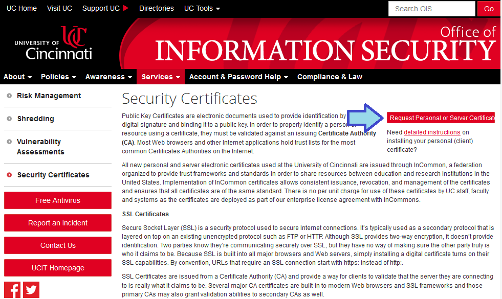 CERTIFICATION OF A LABOR VERIFICATION STATEMENT WITH A DIGITAL SIGNATURE PART ONE: Obtain a digital signature through the Office of Information Security 1.