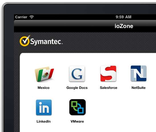 Secure Mobile Access & Information Protection Secure sandbox with built-in SSL VPN and silent
