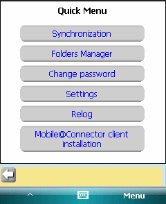 8. Menu Once you press the Menu button, you will see two positions there: SystemMenu and QuickMenu.
