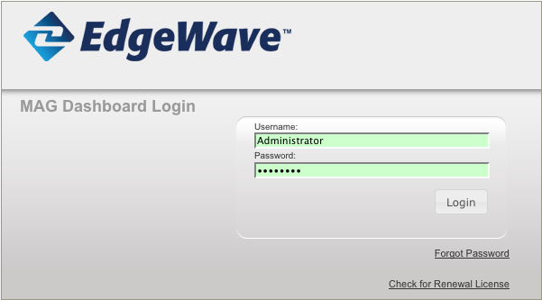 Figure 6. Configuration Status After validation, the appliance downloads software updates and restarts the application. Figure 7.