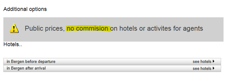Additional options: You are able to Book Fjord Pass Hotels as an agent.