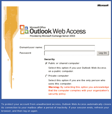 A10: Unvalidated Redirects and Forwards A real world example of this is the Outlook Web Access 2003 redirect vulnerability When clicking a link in an email OWA 2003 used a redirect to send the user