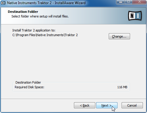 Software Installation Installation on Windows Background Components These components are not displayed in the installer window, but are installed depending on your system configuration: Controller