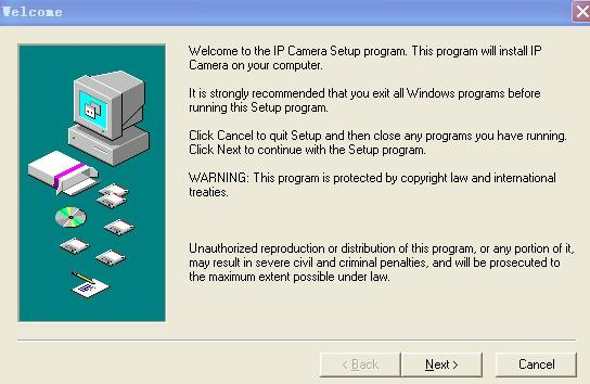 In order to run smooth we will need to install the ActiveX App on each system we would like to use to visit the camera.