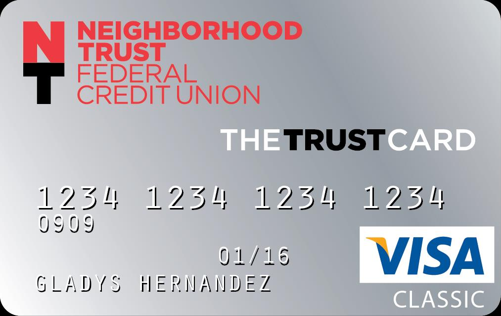 A Product Example: The TRUST CARD The Trust Card Is Easy Transfer all of your debt to one card. Make the same payments each month and watch your balance go down more quickly.