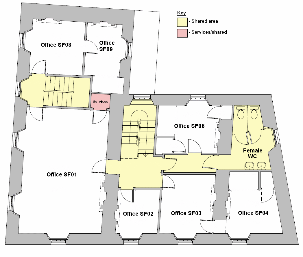 Second Floor Plan Main