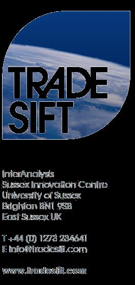 InterAnalysis Limited Sales and Licence Agreement Chapter One General Information for businesses and consumers Welcome to www.tradesift.