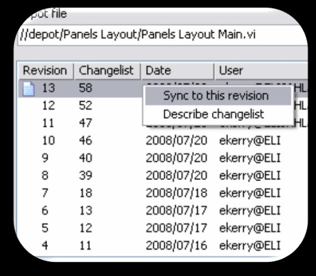 System Level View Track Changes Integrate with SCC Software Configuration