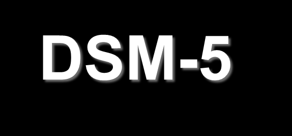 SECTION I-BASICS DSM-5 Includes organizational structure SECTION II-DIAGNOSTIC CRITERIA AND CODES SECTION