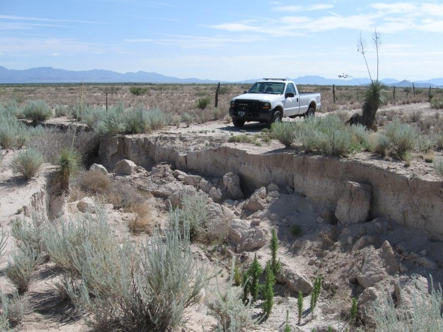 Cochise County Project in Southeastern Arizona Mapped earth fissures by the Arizona