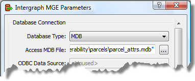 Specifying the file filter parameters The next four steps edit the default File/Filter parameters to select the MicroStation DGN (.par) drawing files used in this exercise. 1.