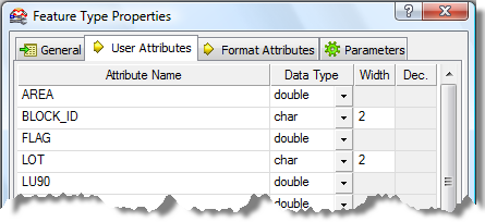 Redefine the LOT_POINTS destination feature Redefine the LOT_POINTS destination feature to generate the polygon features that passed the test clause specified in the Tester transformer. 1.
