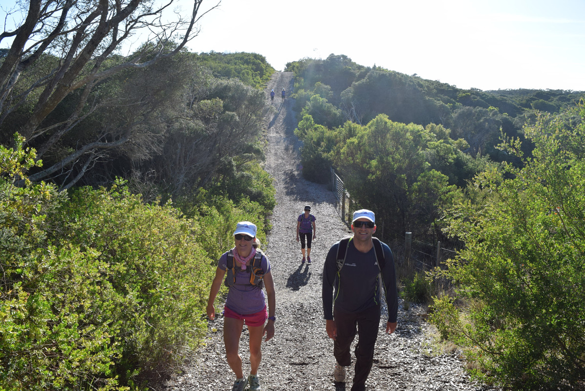 GET THE FEEL: ENDURANCE WALKING An endurance walk is a long distance Trek with back pack and trekking poles on a bush, coast, rock and/or soft sand route with uneven and irregular terrain including