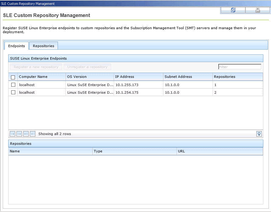 Adding a repository or SMT Figure 7.