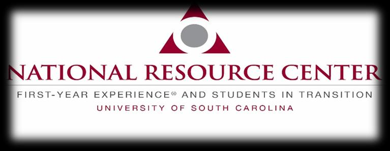 This conference is co-sponsored by the National Resource Center for the First-Year Experience and Students in Transition.