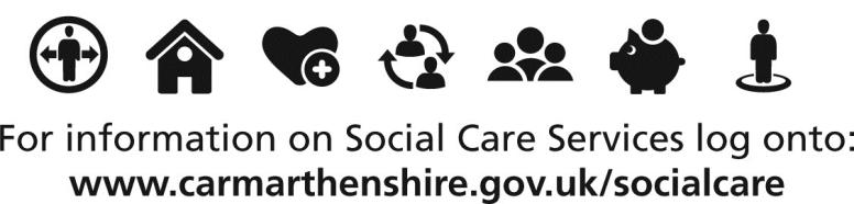 Carmarthenshire County Council has a Domiciliary Service that can help in the following ways: Reablement - a short-term support designed to give older people or people with disabilities skills,