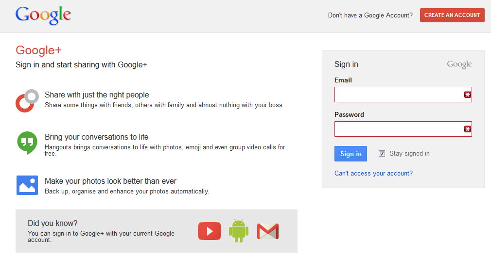 4. Google+ Post the article on Google+, which is Google s social media network.
