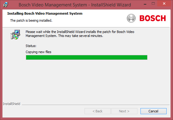 Bosch Video Management System Patch Deployment Sequence en 11 Figure 3.
