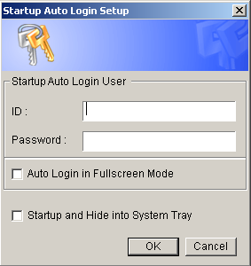 Auto Startup Login After checking the boxes I have circled, click on the