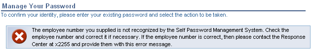 Manage Your Password You may edit your questions and answers at any time. To use this function, you must first key your Shaw employee ID (Kronos Badge number) in the Employee number field.