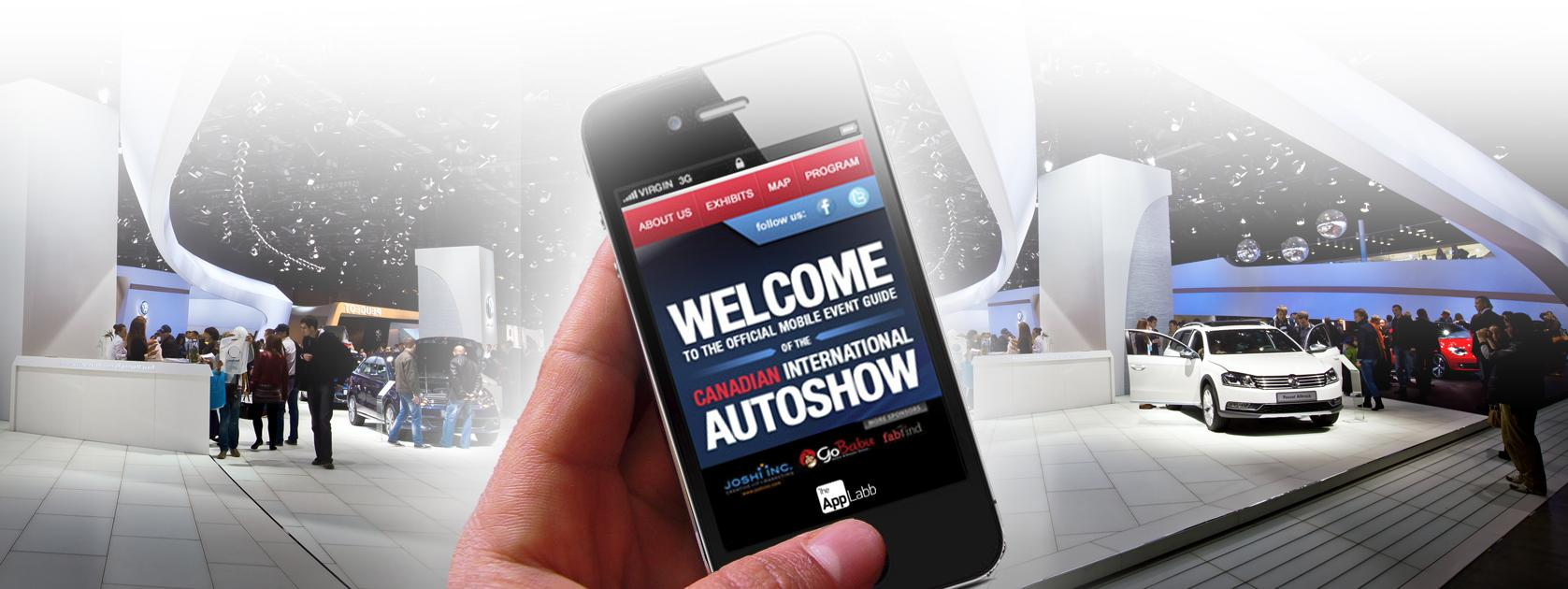 CASE STUDIES MOBILE APP DEVELOPMENT Mobile App The Auto Show s aim was to engage with the audience at the event and provide them with a