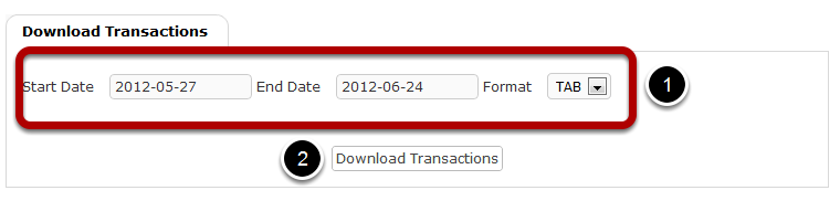 Download Transactions This would show you the steps in downloading transactions. Under the CC Payments settings, click on Download Transactions.