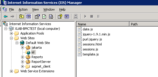 10 Your IIS Manager should look much like this: Open any browser and navigate newly deployed virtual directory (we will