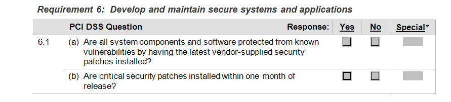 REQUIREMENT 5 Use and regularly update anti-virus software or programs Requirement 5 Answer: 5.1 5.