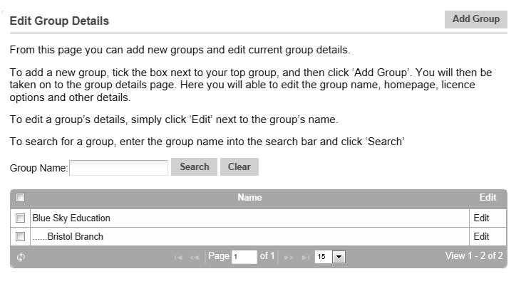 How to Move a User into another Group or Sub-group 1.