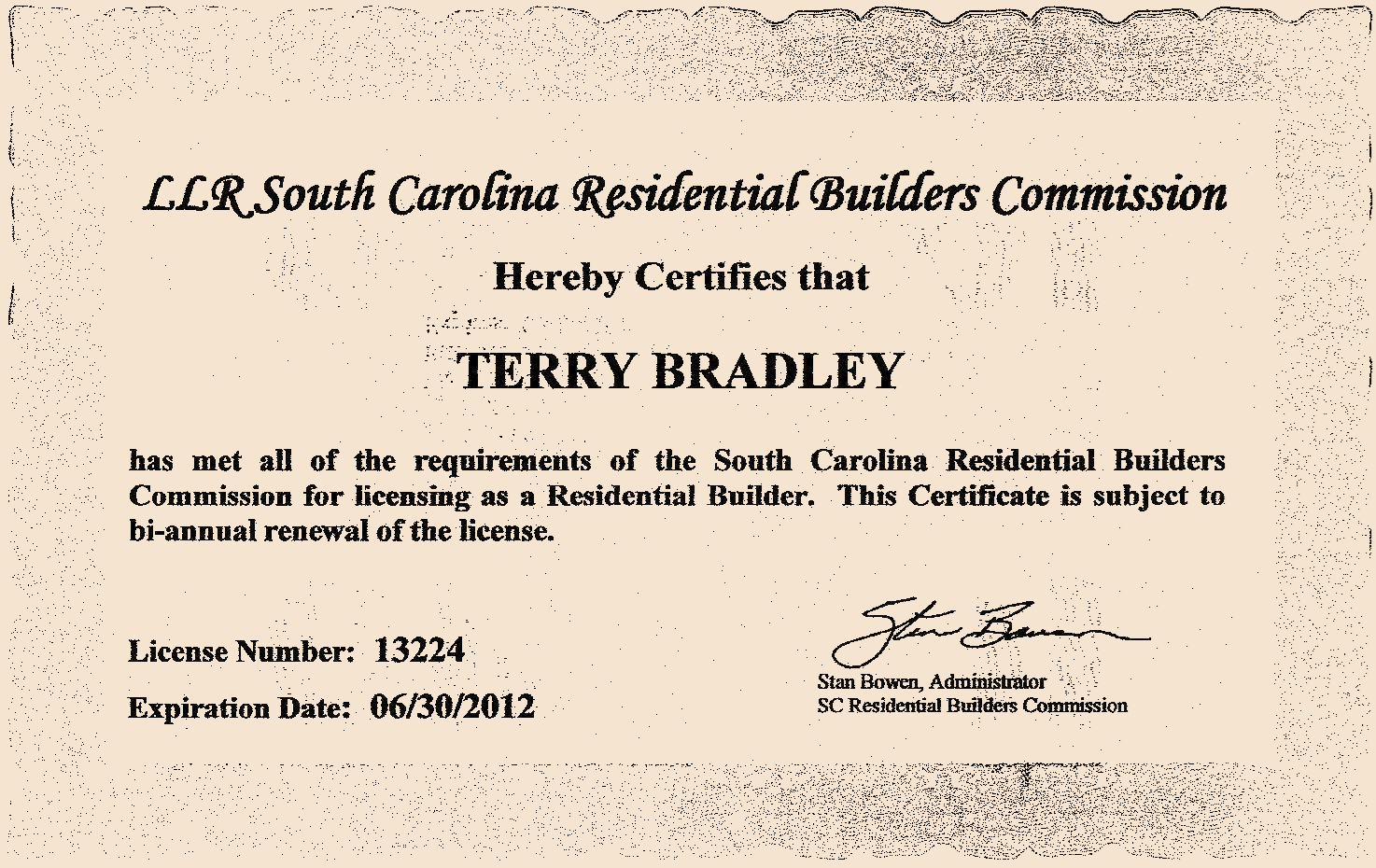 Bradley Construction LLC Residential