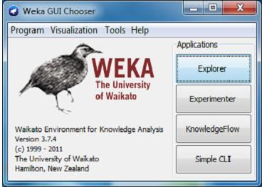 the deep knowledge of data mining that s reason it is very popular data mining tool. Weka also provides the graphical user interface of the user and provides many facilities.