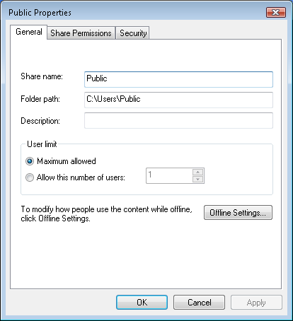 You will be able to see all shared folders on the computer in the Computer Management dialog box after expanding the left panel tree directory.