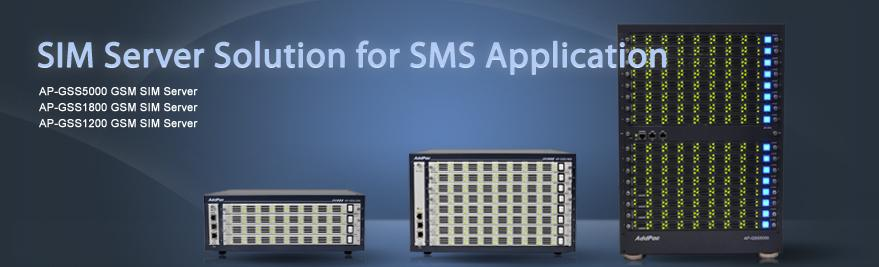 AddPac SIM server combining GSM SMS gateways is now suggesting a new model for a main mobile SMS and voice communication solution.