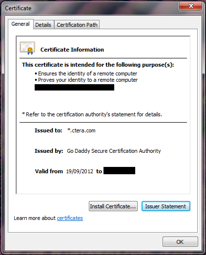Configuring Global Virtual Portal Settings 3 Sign the Certificate Request The next step is to sign the certificate request. To sign the certificate request 1 Send the certificate.