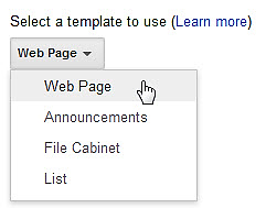 9. Click SAVE. Note: Click on your website element under Manage Site on the Left side to return to home page E. Add a Page to your Website 1.