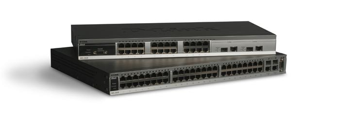 High Performance Switching: + D-Link Single IP Management (SIM) + Stackable Up to 32 Units with Single IP Address Security: + DoS Attack prevention + SSHv1/2, SSLv2 + Microsoft NAP + TACACS+, RADIUS